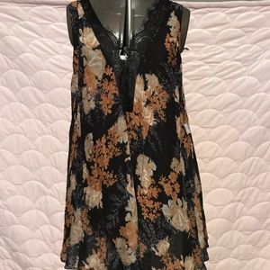 Free People dress large night comb